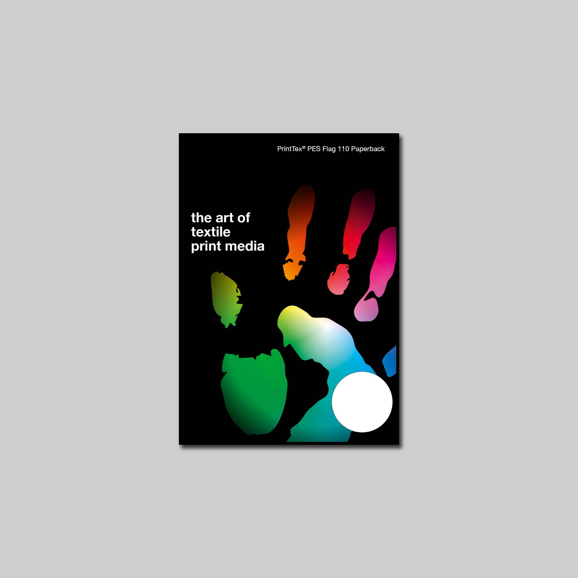 Pes flag 110 paperback printtex pongs product finder for Design esstisch expo weiss ausziehbar 137 180 cm